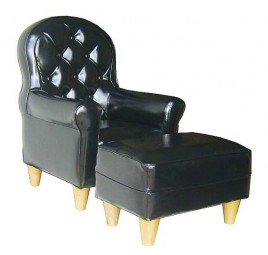 Little Charolles chair with ottoman