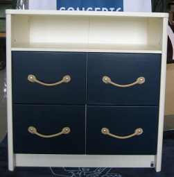 Chest of drawers Small World Modern - Second Quality